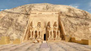 Die Tempel von Abu Simbel in Ägypten