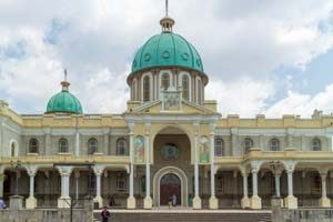 Sehenswürdigkeit - Die Bole Medhane Alem Kathedrale in Addis Abeba
