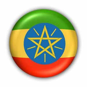 Nationalfahne von Äthiopien