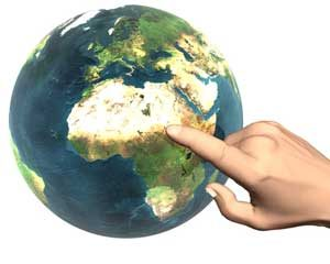 Entwicklungsländer in Afrika in der Welt