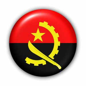 Angola Nationalfahne