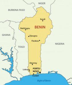 Benin: Karte