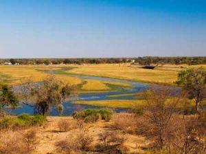 Fluss Chobe in Botswana