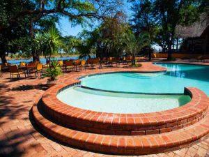 Wunderschöne Lodge mit Pool