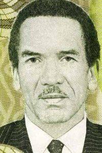 Motiv auf einen Geldschein von Botswana