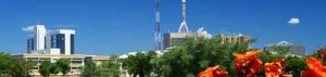 Gaborone, Hauptstadt von Botswana