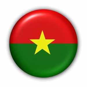 ationalfahne von Burkina Faso