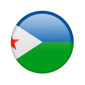 Nationalfahne von Dschibuti