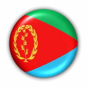 Nationalfahne von Eritrea