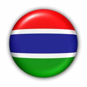 Nationalfahne von Gambia