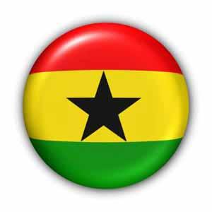 Nationalfahne von Ghana