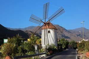Typisch für Gran Canaria sind Windmühlen