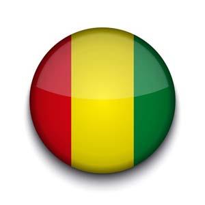 Nationalfahne von Guinea