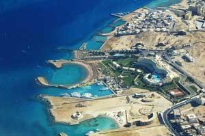 Ressort am Strand von Hurghada in Ägypten