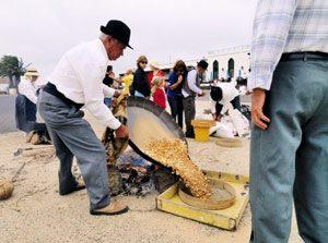 Fuerteventura: Gofio wird hergestellt