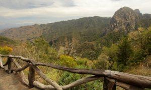 wunderschöne Landschaft auf La Gomera