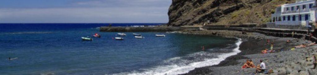 Strände auf der Kanarischen Insel La Gomera