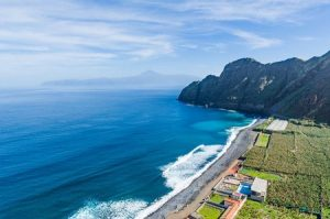 Schön gelegene Nordküste der Insel La Gomera