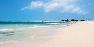 Strand Praia de Chaves auf Boavista, Kapverden