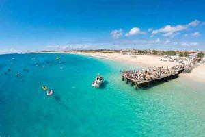 Strand Santa Maria auf Sal, Kapverden