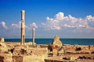 Ruinen von Karthago bei Tunis