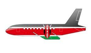 Flug nach Kenia