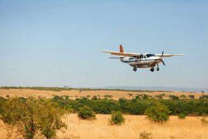 Inlandsflug in Kenia zur Safari