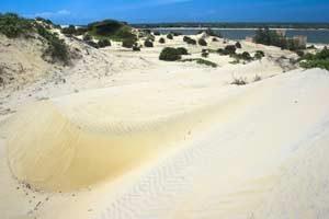 Auf Lamu befinden sich die vielleicht schönsten Sandstrände an Kenias Nordküste