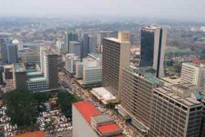 Hauptstadt von Kenia - Nairobi