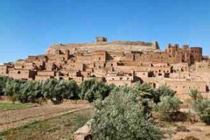 Wunderschöne Sehenswürdigkeit: Ksar Ait Ben Hadu in Marokko