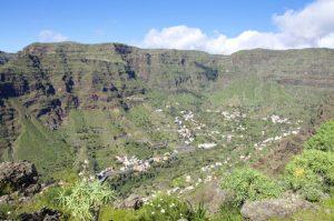 Das Gran-Rey-Tal ist ein Höhepunkt auf La Gomera