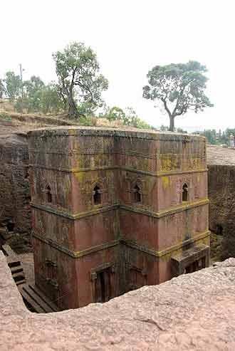 Die alten Kirchen von Lalibela sind sehenswert