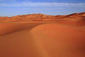 Typische Sandwüste