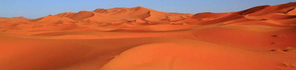 Landschaftstyp: Wüste