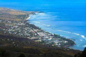 Blick auf Saint Leu auf Reunion