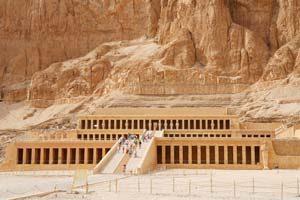 Der Tempel von Hatshepsut in Luxor