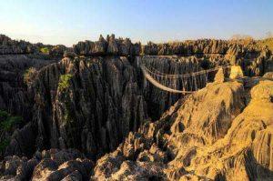 Mit den Rucksack durch den Nationalpark Tsingy de Bemaraha