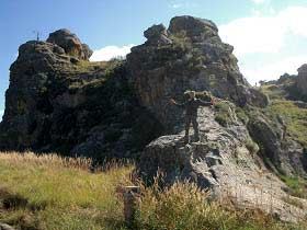 Madagaskar: Imposante Felsen im Hochland