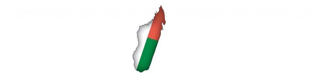 Madagaskar: Lage der Insel