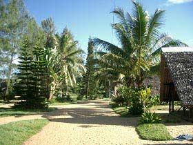 Bungalow-Siedlung mit mietbaren Hütten in Manakara