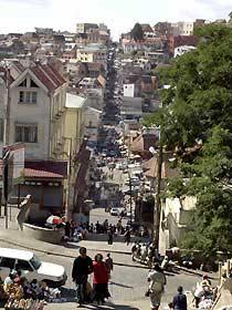 Blick auf Antananarivo