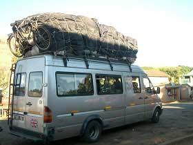 Madagaskar: Typischer Transport