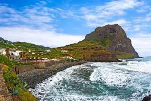 Landmarke auf Madeira - der Eagle Rock