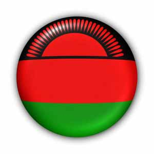Nationalflagge von Malawi