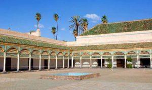 Marokko: Sehenswürdigkeit Bahia Palast in Marrakesch