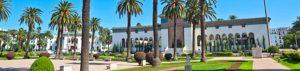 Marokko: Casablanca - Platz mit Regierunsgssitz