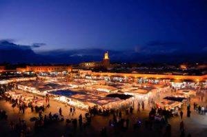 Marokko: Djema ael Fna in Marrakesch