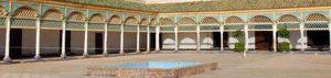 Marokko: Bahia Palast in Marrakesch