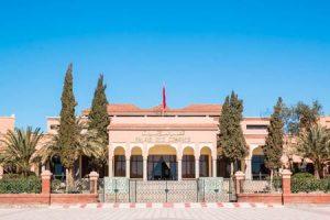 Marokko: Palast in Ouarzazate