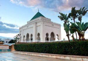 Marokko: Das Mausoleum von Mohammed V. in Rabat